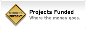 Projects Funded: Where the money goes.