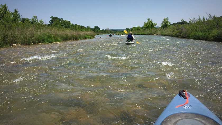 River Access and Conservation Areas - Llano River